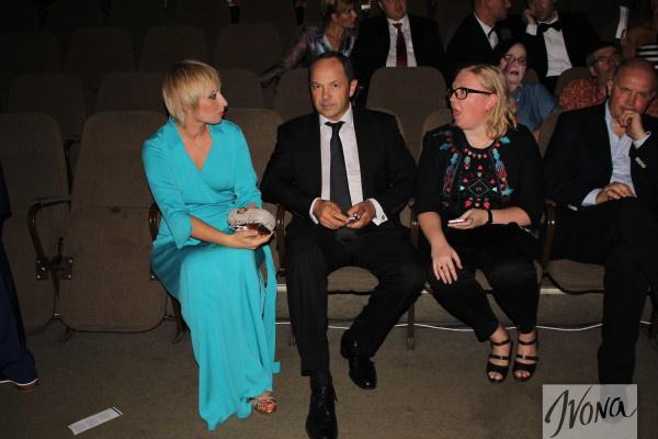Муж Виктории Тигипко посетил ОМКФ 2014