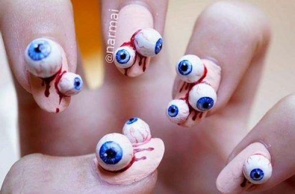 Ужасней некуда: Самый страшный маникюр в мире (фото)