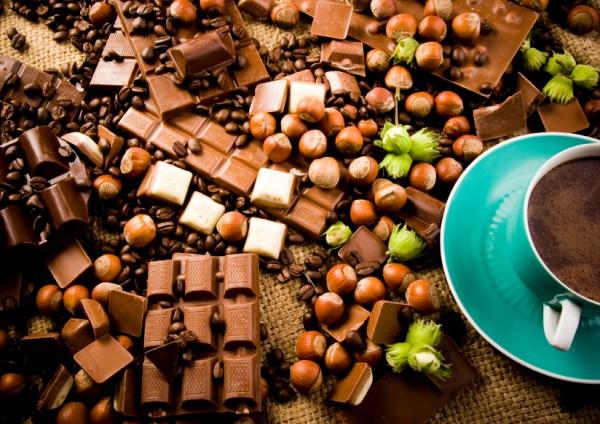 Шоколад – отличная добавка к кофе
