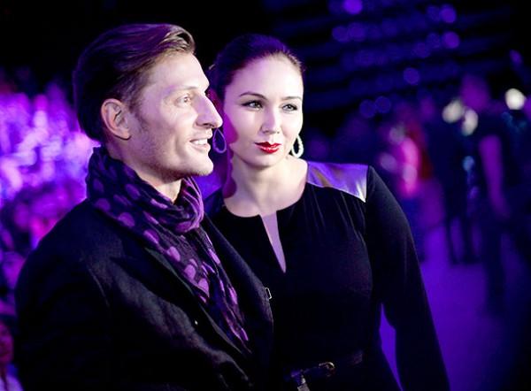 Павел Воля с супругой Ляйсан Утяшевой