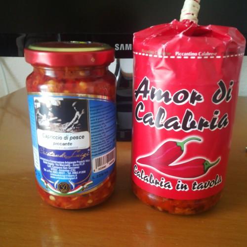Растительные консервы очень популярны в Калабрии