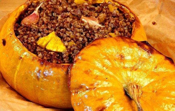 тыква запеченная в духовке с овощами рецепт с фото