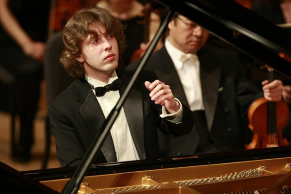 Украинский пианист Павел Гинтов