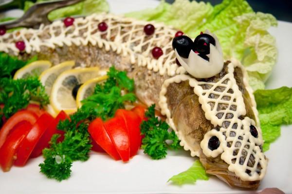 Рецепт                  Новогодние рецепты: Фаршированная рыба