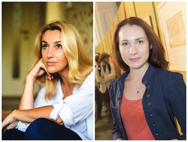 Снежана Егорова и Елизавета Бельская (справа)