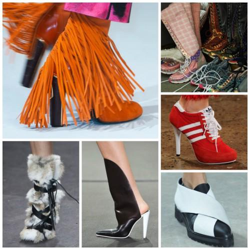 Модная обувь сезона осень-зима 2014-2015
