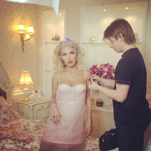 Маша Малиновская выкладывает в блог фото сына Мирона