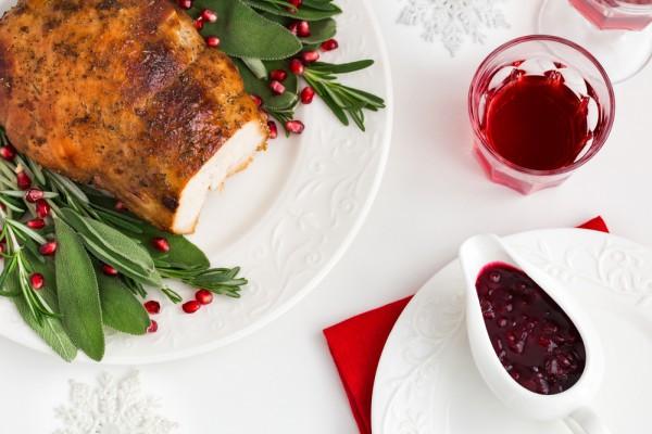 Блюда на Рождество: пастрома из индейки