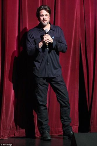 Американский актер Брэд Питт