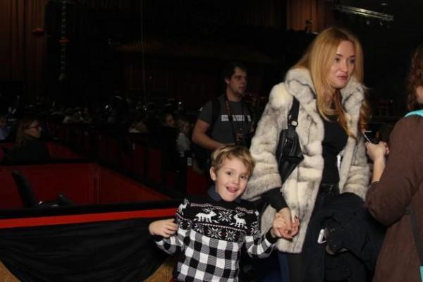 Младший сын Александра Пономарева и экс-жена Виктория