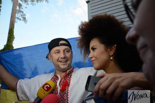 Потап и Настя рассказали об Украине на Новой волне 2014