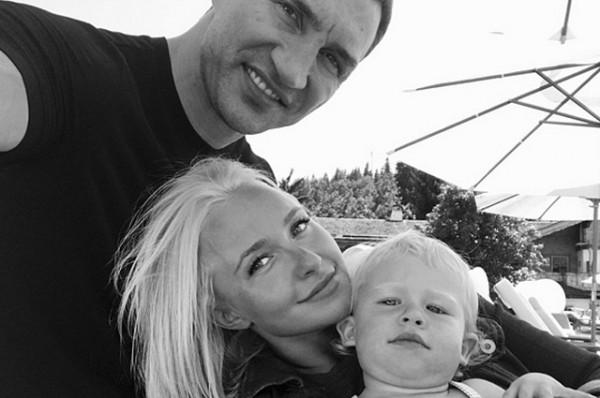 Кличко и Панеттьери воспитывают дочь Кайю