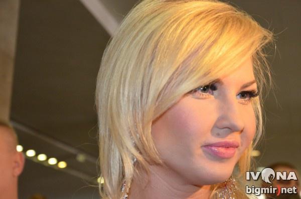 Певица Камалия на церемонии вручения Viva! Самые красивые 2012