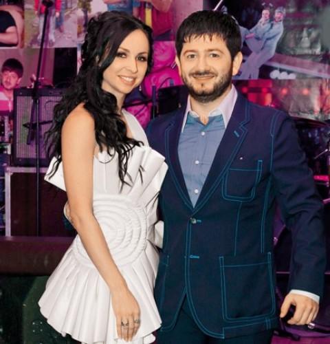 Михаил Галустян с супругой Викторией
