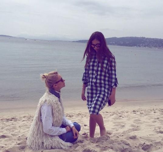 Татьяна Рамус с дочкой