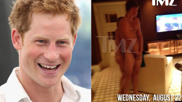 Голый принц Гарри поразил интернет-общественность