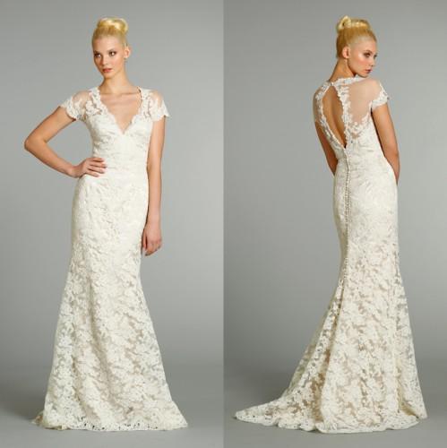 Если свадебное платье не белое, то