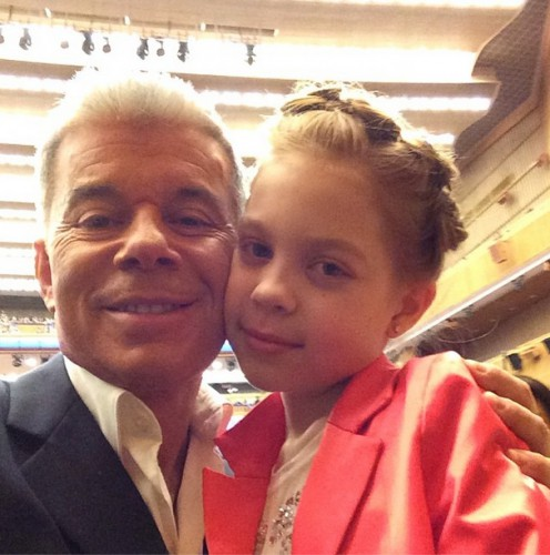 Олег Газманов опубликовал снимок с дочерью Марианной
