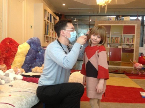 Дочь Наташи Ионовой с доктором
