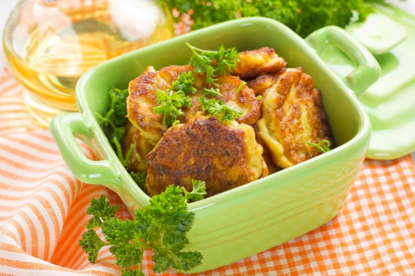 рецепты котлет из кабачков и мяса
