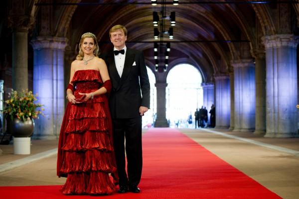Король и королева Нидерландов - Виллем-Александр и Максима