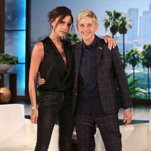 Виктория Бекхэм на шоу The Ellen Show