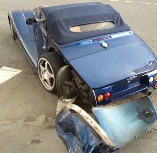 Гоша Куценко разбил свою машину