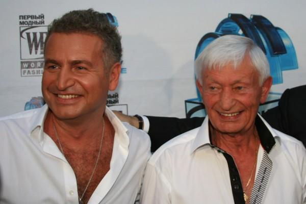 Леонид Агутин вместе со своим отцом Николаем Петровичем
