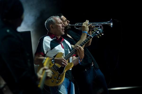 Группа Машина времени на фестивале Нашествие 2014