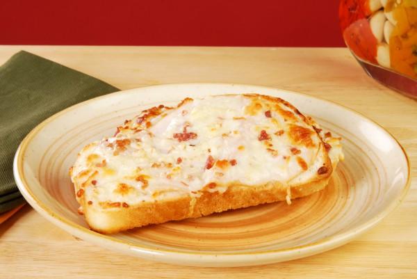 Рецепт                  Тосты с ветчиной и сыром на завтрак