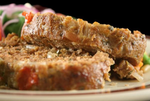 Рецепт                  Мясной хлебец с овощами