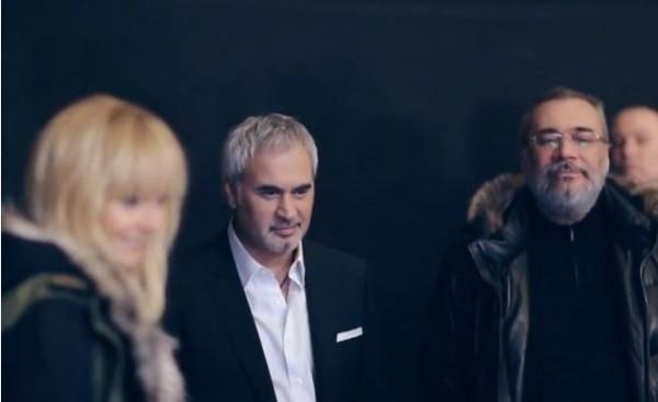 Константин Меладзе пришел на съемки клипа к брату
