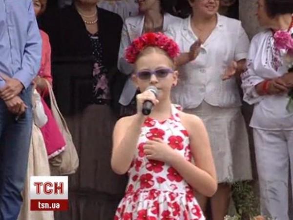 Дочь Арсения Яценюка