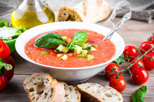 Томатный суп от Юлии Высоцкой