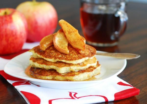 рецепты оладьи с яблоками