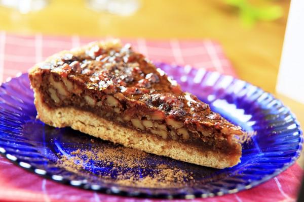 Сладкий ореховый тарт