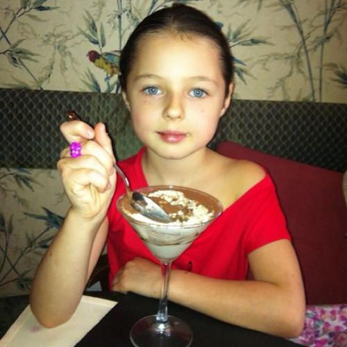Анастасия Волочкова отправила дочь во Львов
