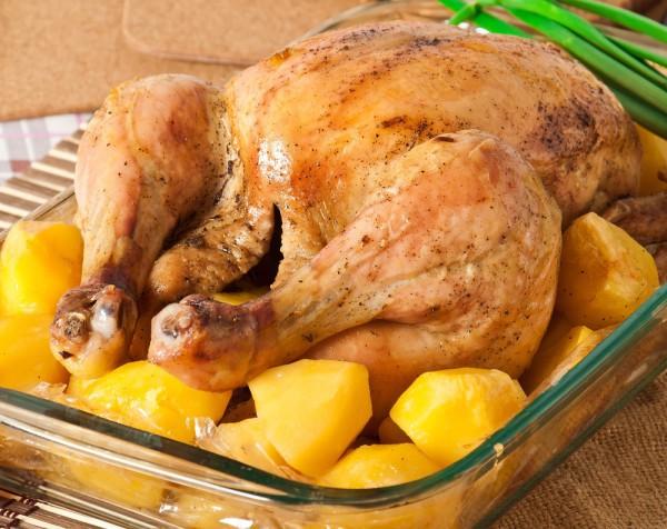 Запеченная курица на Пасху
