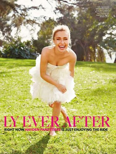 24-летняя американская актриса Хайден Панеттьери снялась в свадебной фотосесси для американского издания.