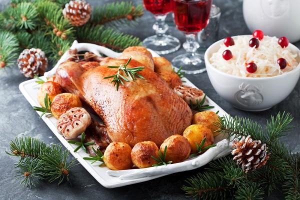 Запеченная утка на Новый год и Рождество