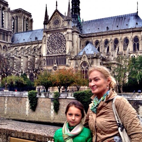 Ариша с бабушкой