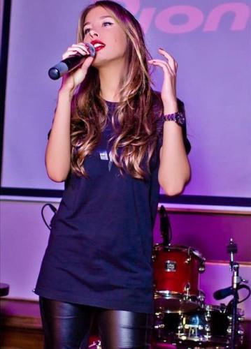 Российская певица Кети Топурия