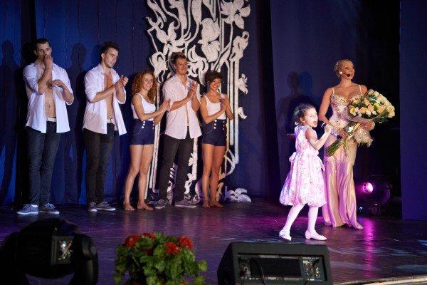 Дочь Анастасии Волочковой впервые выступила на сцене