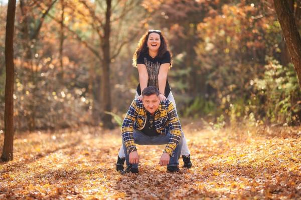 Андрей Бурым с женой