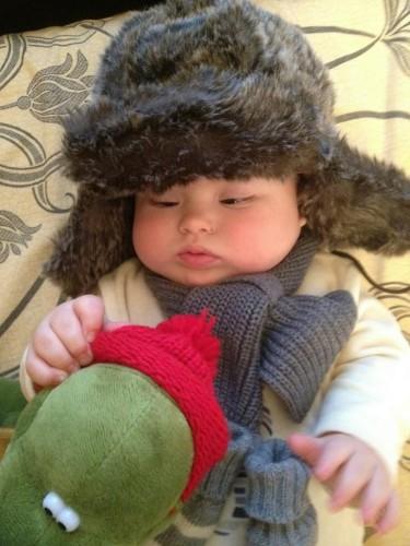 Эвелина Бледанс продемонстрировала рождественские фото собственного сына