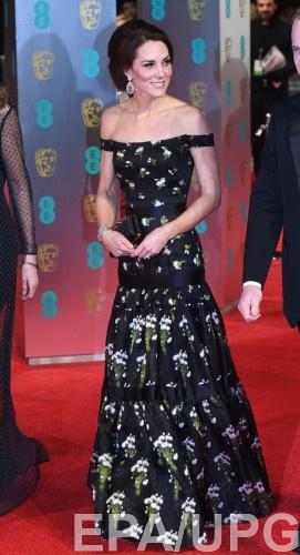BAFTA 2017: герцогиня Кембриджская
