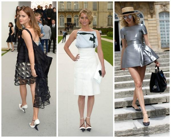 Звездные гости на показе кутюрной коллекции Dior