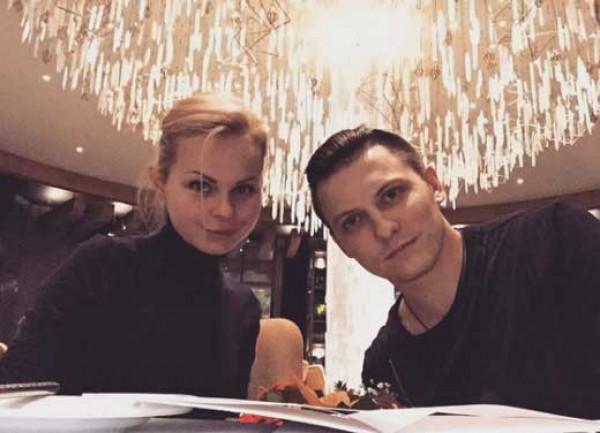 Алиса Вокс с экс-мужем Дмитрием