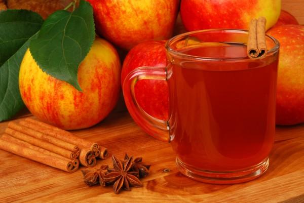 Рецепт                  Яблочный сидр безалкогольный