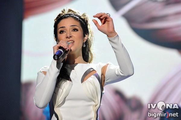 Злата Огневич – самая красивая участница Евровидения 2013
